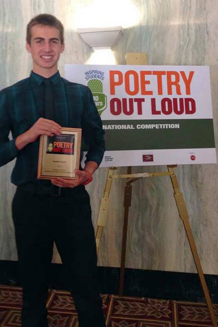 Poetry Out Loud winner